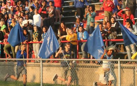 Blue Men take the field