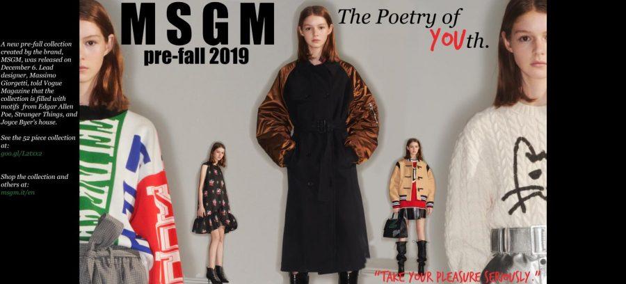 MSGM pre fall 2019 collection