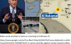 President Biden Strikes Syria