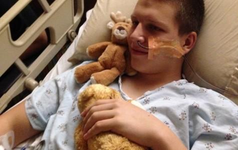 Brown survives despite near death illness