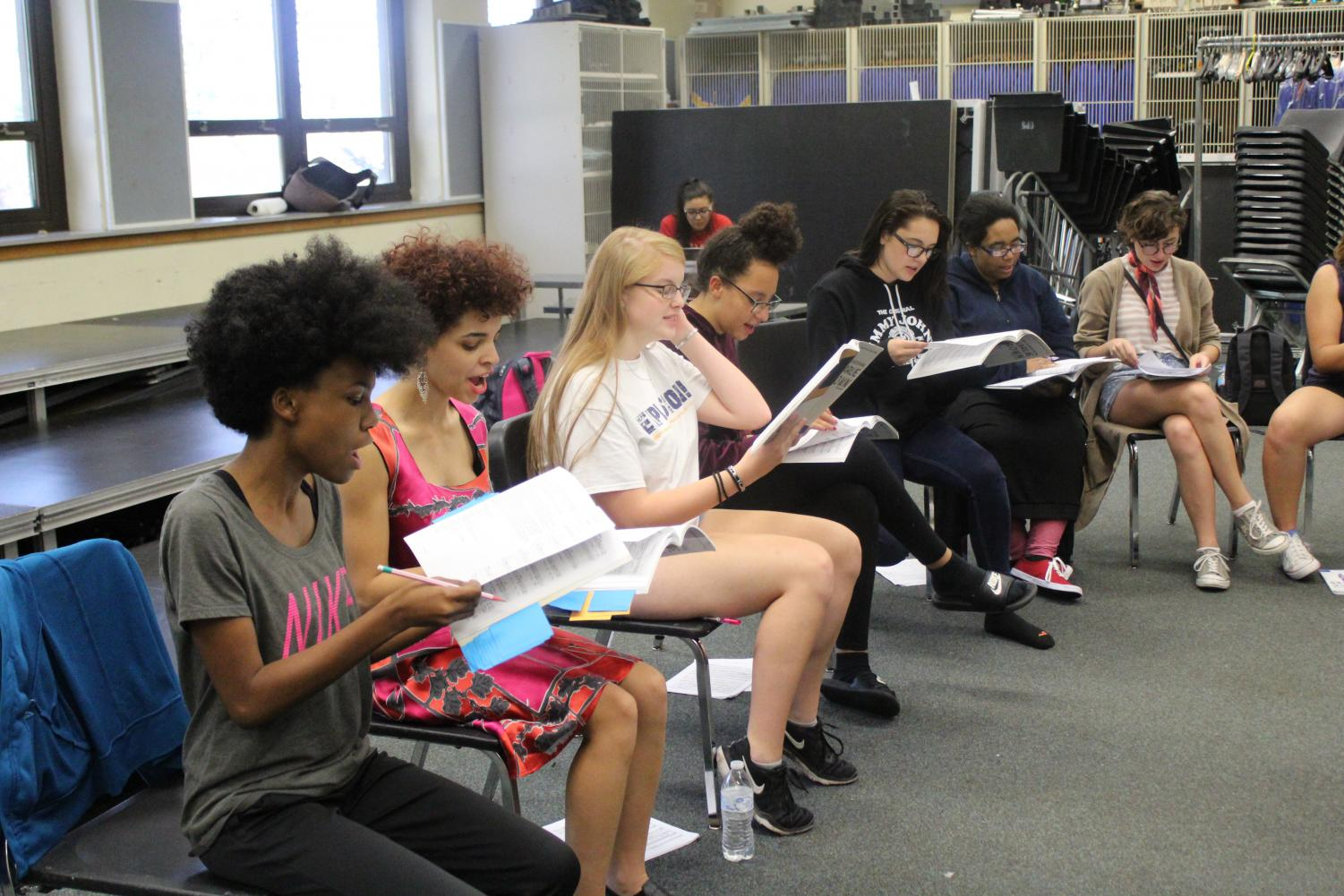North Drama Club begins early stages of fall play