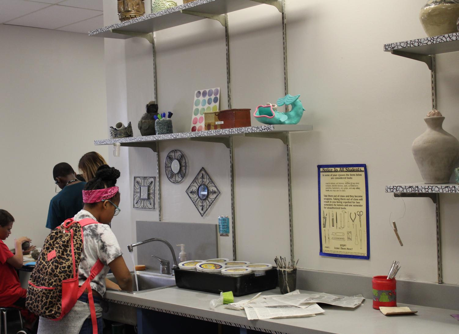 OPS renovations reach North's art wing