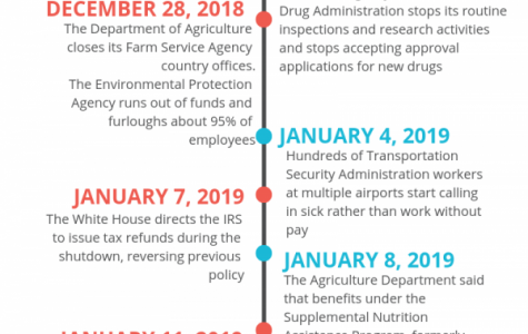 Breakdown of the shutdown
