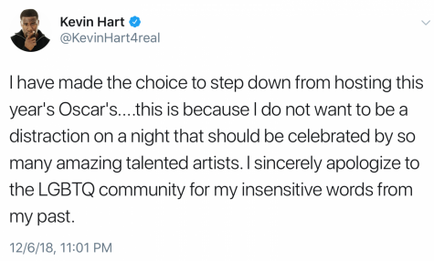 Kevin Hart faces backlash over homophobic tweets from past