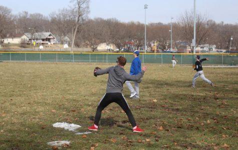 Transgender student joins boys baseball team for first time