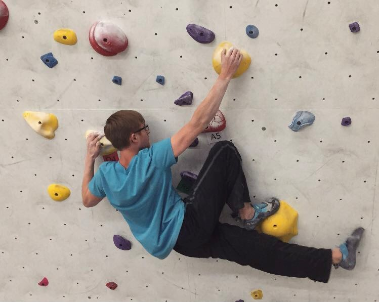 Crawford plans to follow dreams, build rock-climbing gym