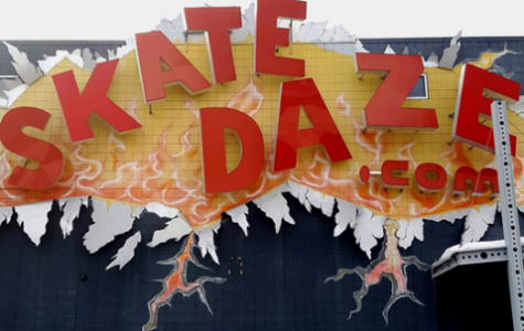 SkateDaze announces their closure for the end of the day on Mar. 31 after 73 years of business. This location, 132nd and B St, has been open since 1982 and it has provided a skating rink play center for all ages. Photo by Paige Anthony